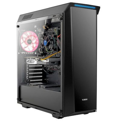 Turbo-X Erebus E460 Desktop (Intel Core i5 9400/8 GB/240 GB SSD/1 TB HDD/GTX 1660)