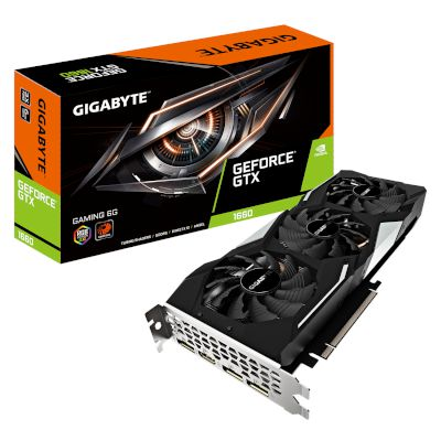 Gigabyte VGA GeForce GTX 1660 Gaming OC 6GB