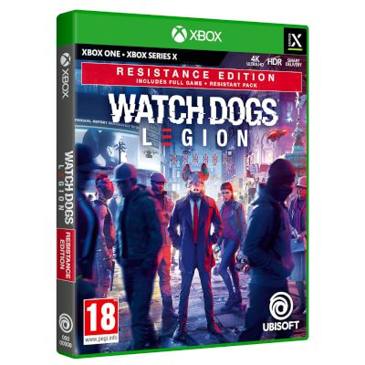 Ubisoft Watch Dogs Legion Resistance Edition Xbox One
