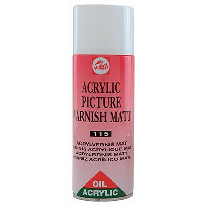 Acrylic Picture Varnish Matt Spray 400ml