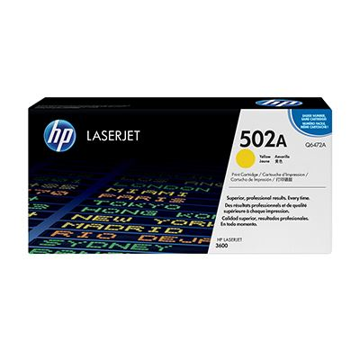 Toner HP 502A Yellow