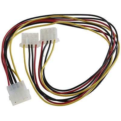 Καλώδιο Molex 4PIN Female σε 2*4PIN Male