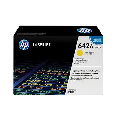 Toner HP 642A Yellow