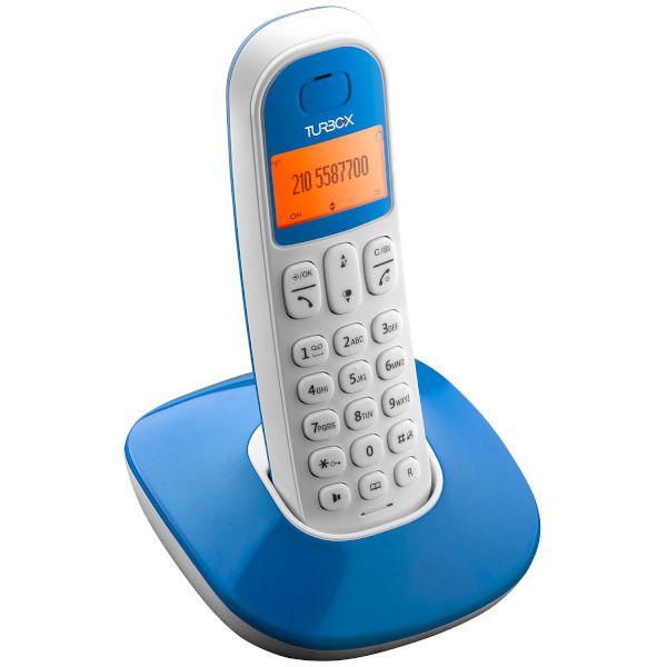 Ασύρματο Τηλέφωνο Turbo-X PL310 Λευκο-Μπλε