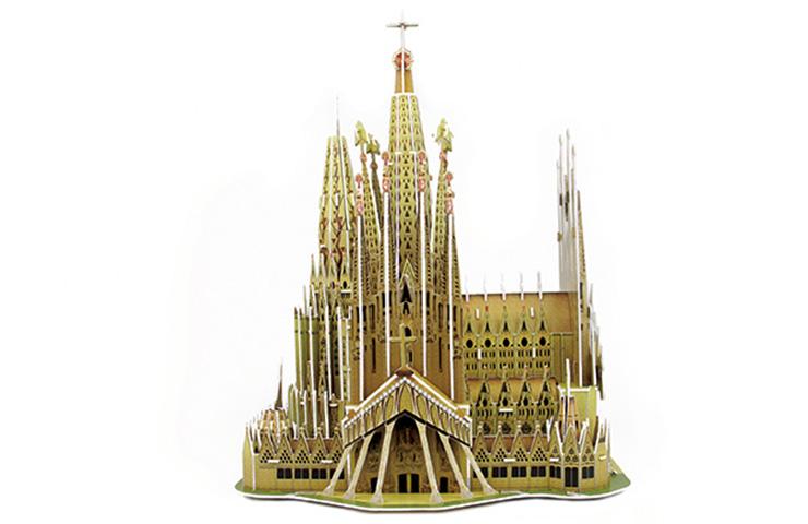 3D Puzzle Sagrada Familia Basilica 223τεμ