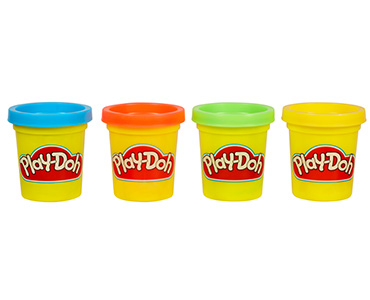 Play Doh Mini 4- Pack