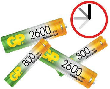 Επαναφορτιζόμενες Μπαταρίες 2600Μah ΑΑ