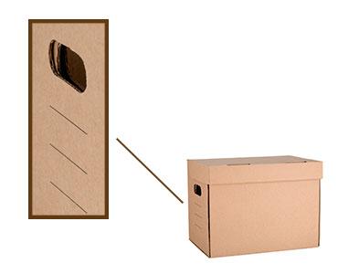 Κουτί οργάνωσης 34x24x26 cm