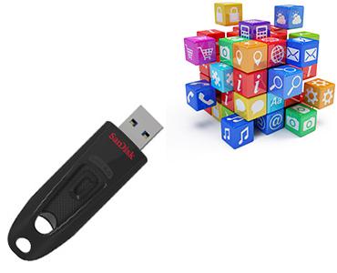 USB Stick 64GB Sandisk Ultra 3.0