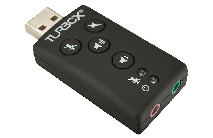 Turbox SOUNCARD USB 7.1  SPDIF