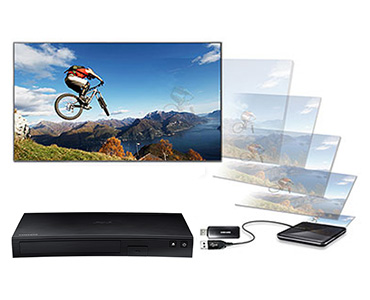Bluray Player Samsung BD-J5900