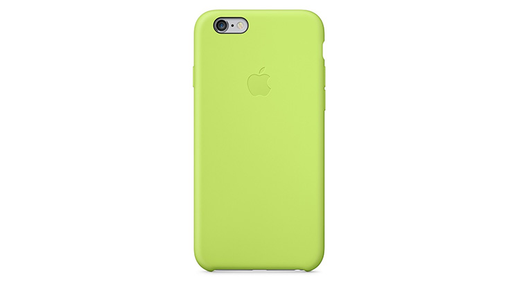 Apple Silicone Case iPhone 6 Plus Green