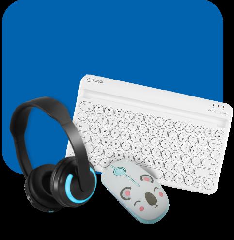 Πληκτρολόγιο, Ποντίκια, Headsets, & Cameras